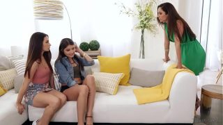 Let's do it on your Mom's bed! – Cassidy Klein, Reena Sky and Adria Rae